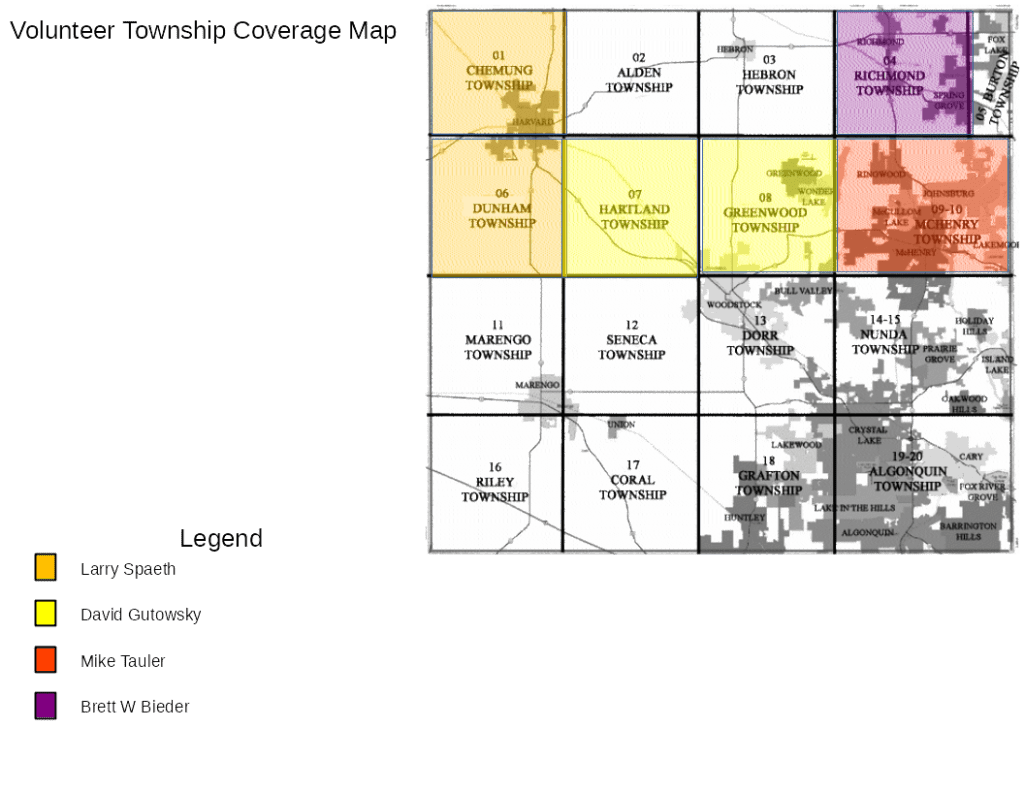 IFMC Township Coverage Map