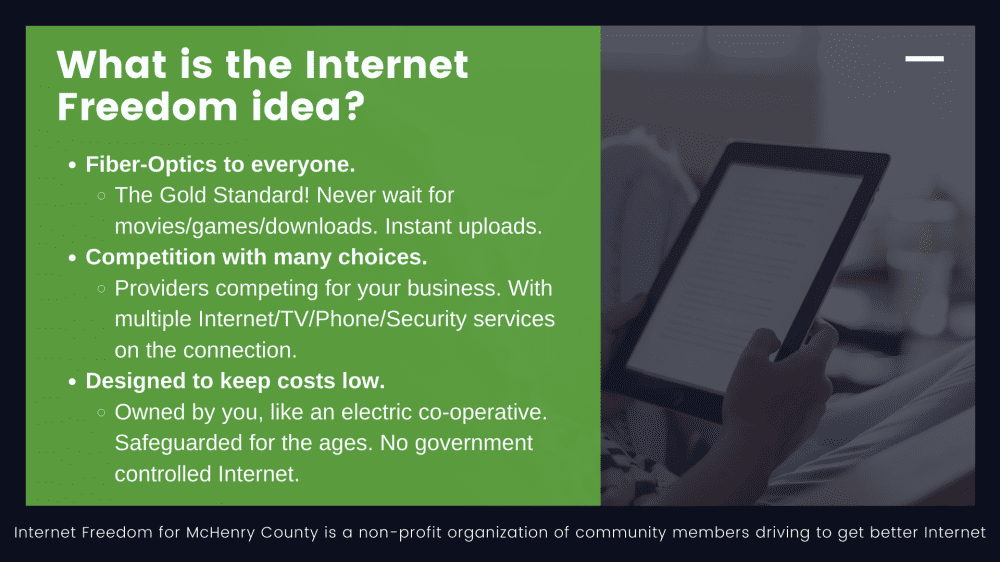 The Internet Freedom idea.