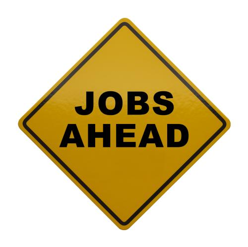 Jobs Ahead Sign